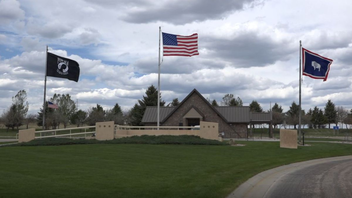Oregon Trail Veterans Cemetery Friday.