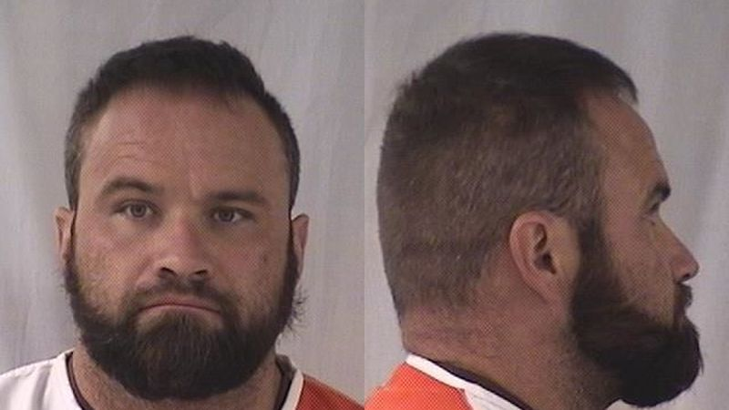 Officers made contact with the victim who stated Charles Mathisen, 36, of Cheyenne, pushed his...
