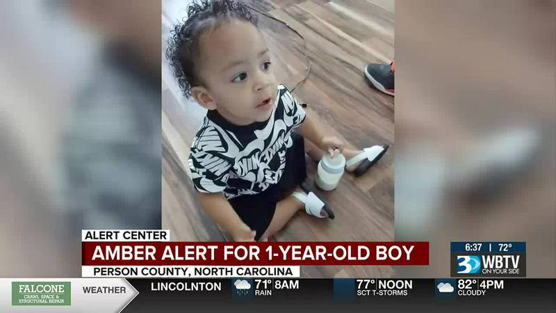 AMBER Alert issued for abducted 1-year-old boy in N.C.