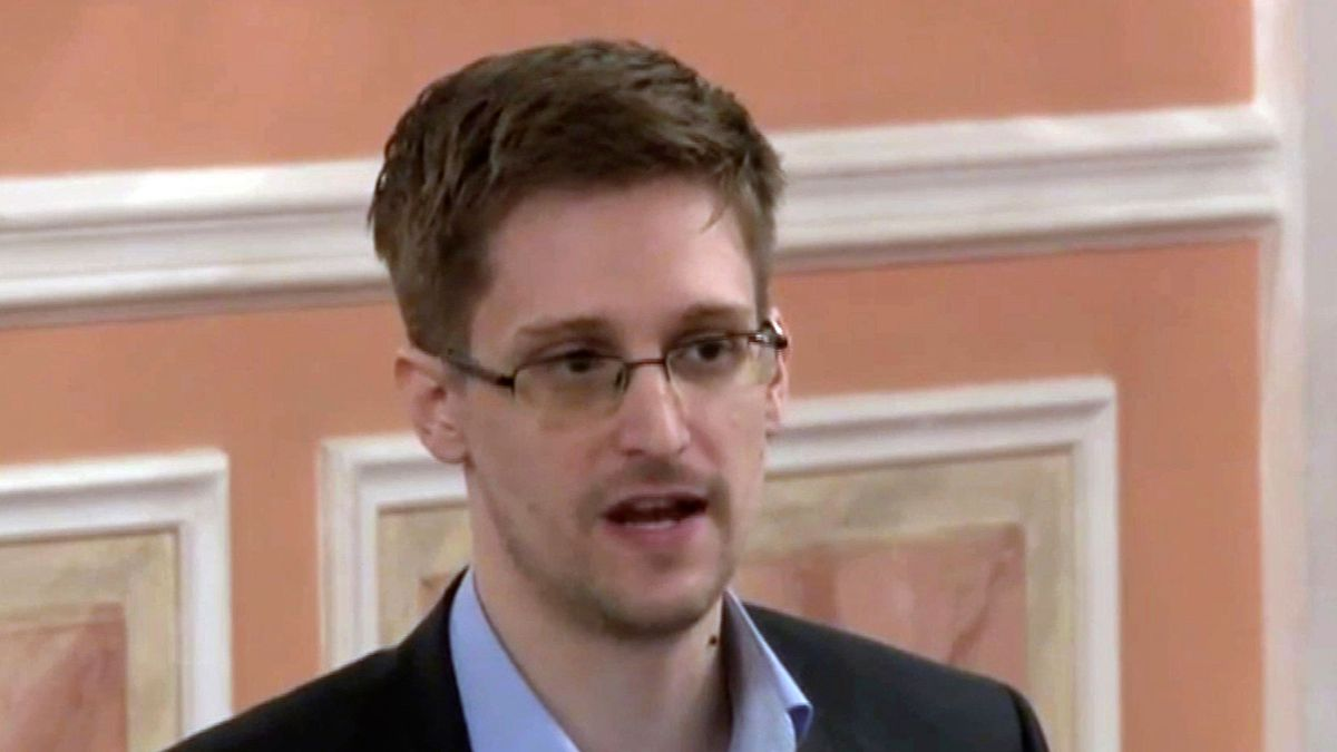 """The U.S. government says it will seek to """"recover all proceeds"""" from Edward Snowden's book.  (Source: AP Photo, File)"""
