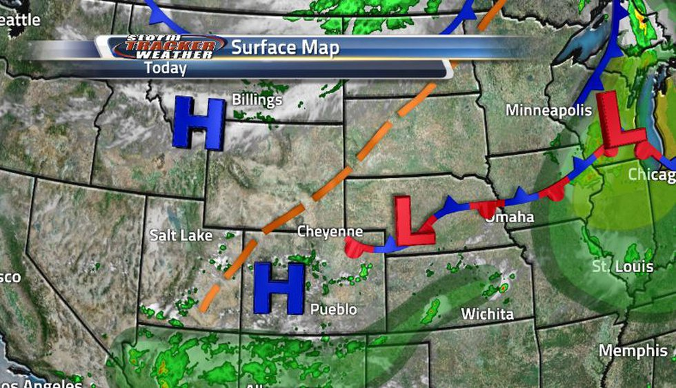 Wyoming is under clear skies and dry conditions for much of the week as there are no systems...