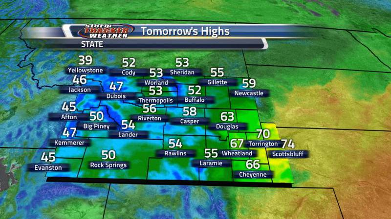 Temperatures tomorrow will be dropping off a good bit making a very little difference between...