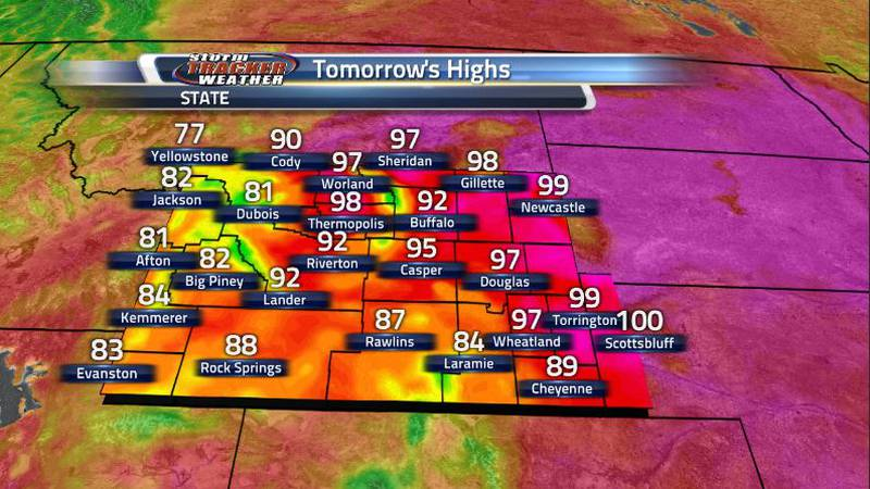Temperatures are heating up once again tomorrow with the Nebraska panhandle expecting to see...