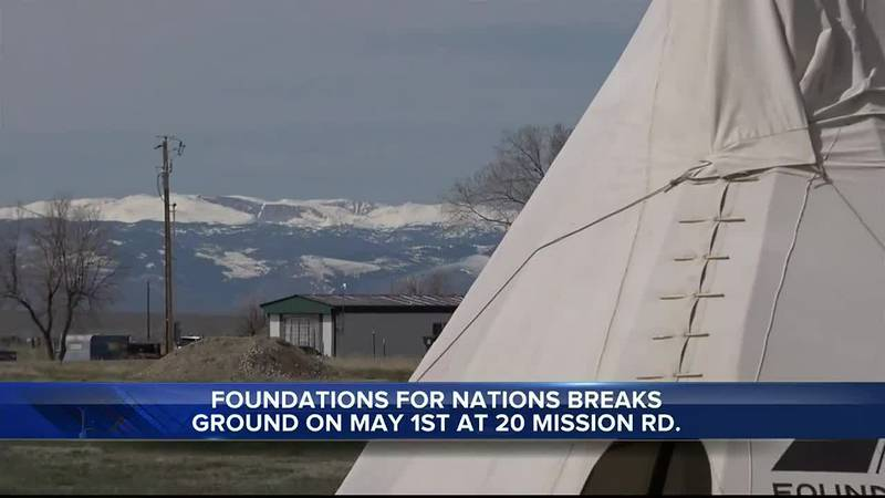 Foundations for Nations at 20 Mission Rd. between Riverton and Arapahoe, WY