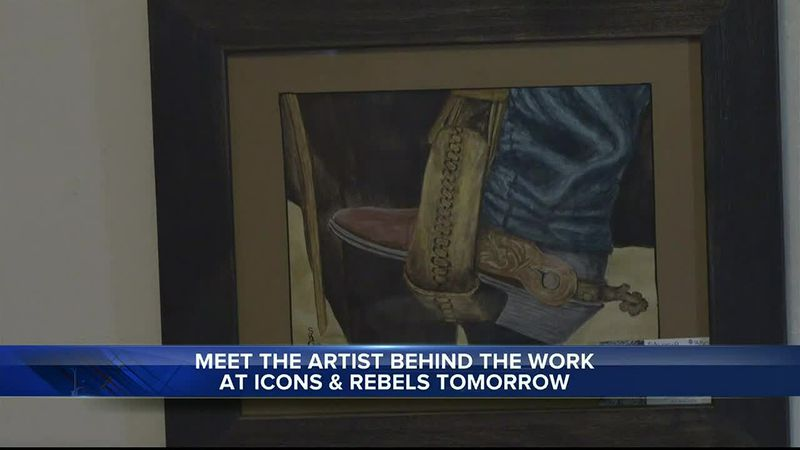 Icons and Rebels host 'Meet the Artist' with Suzanne Graham on December 4th