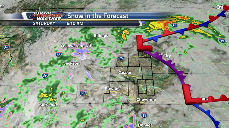 Get ready for an active weather weekend with storms, showers, snow, winds, and a drastic change...
