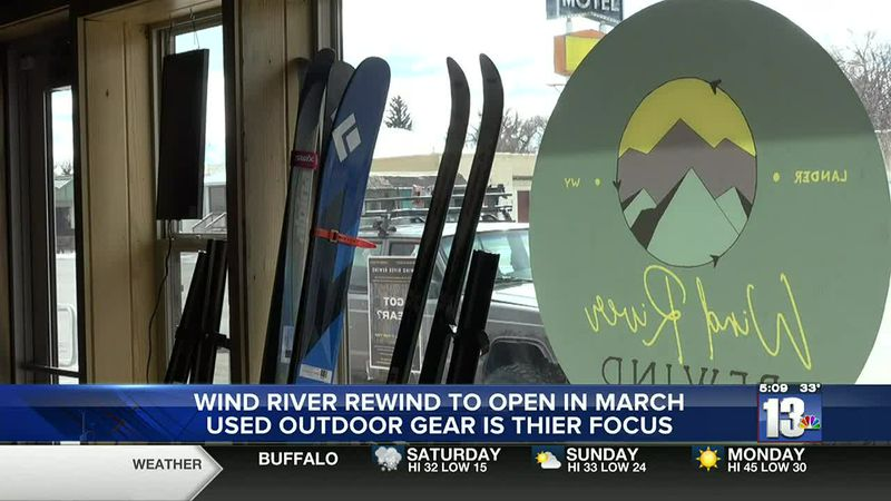 Wind River Rewind consignment outdoor gear store in Lander, WY