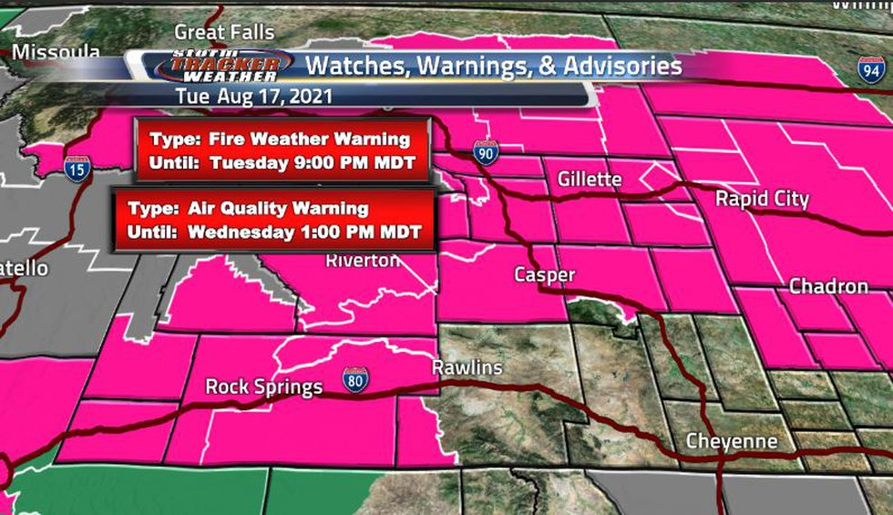 Hot and dry conditions around the state right now are keeping our red flag warnings as well as...
