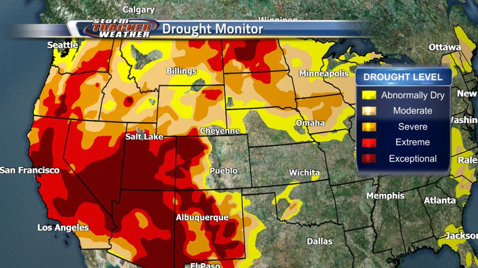 Wyoming is in a drought. Though not as bad as the southwestern portion of the United States,...