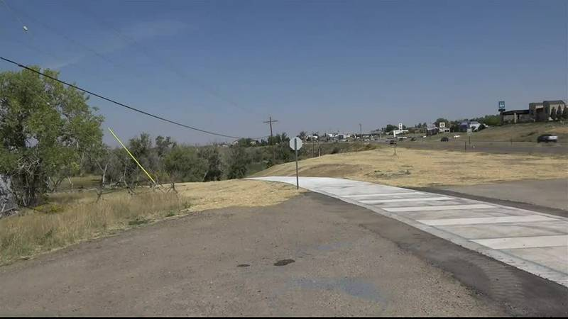 The new section of the Platte River Trail allows travelers to safely cross CY Avenue into the...