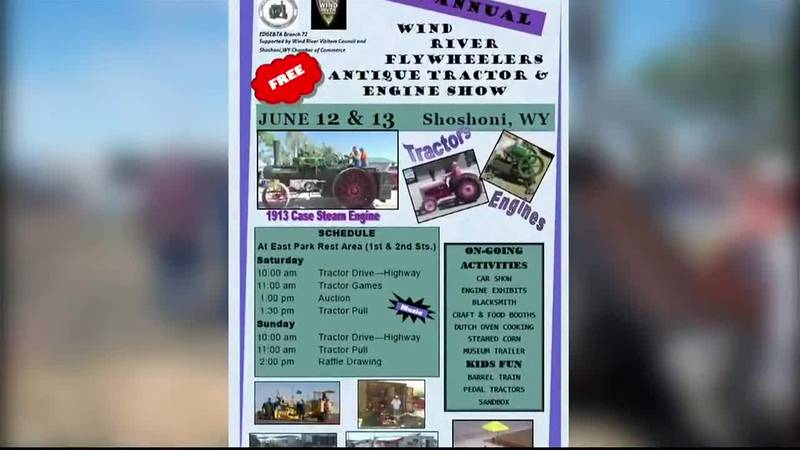 25th Annual Wind River Flywheelers Antique Tractor and Engine Show 2021