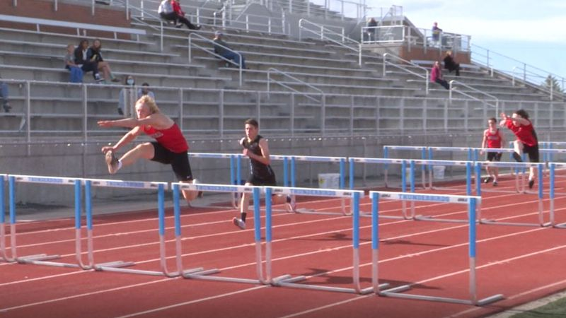 East won the boys meet and Central won the girls meet at the Cheyenne Triangular.