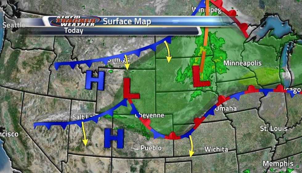 Starting off the week, we have two separate cold fronts moving through the region helping to...