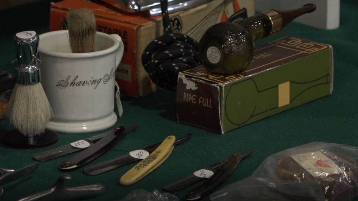 Antiques on display at the Casper Antique and Collectors Club Vintage Antique and Collectible Show and Sale in Casper, Wyo. on Friday, Oct. 4, 2019.