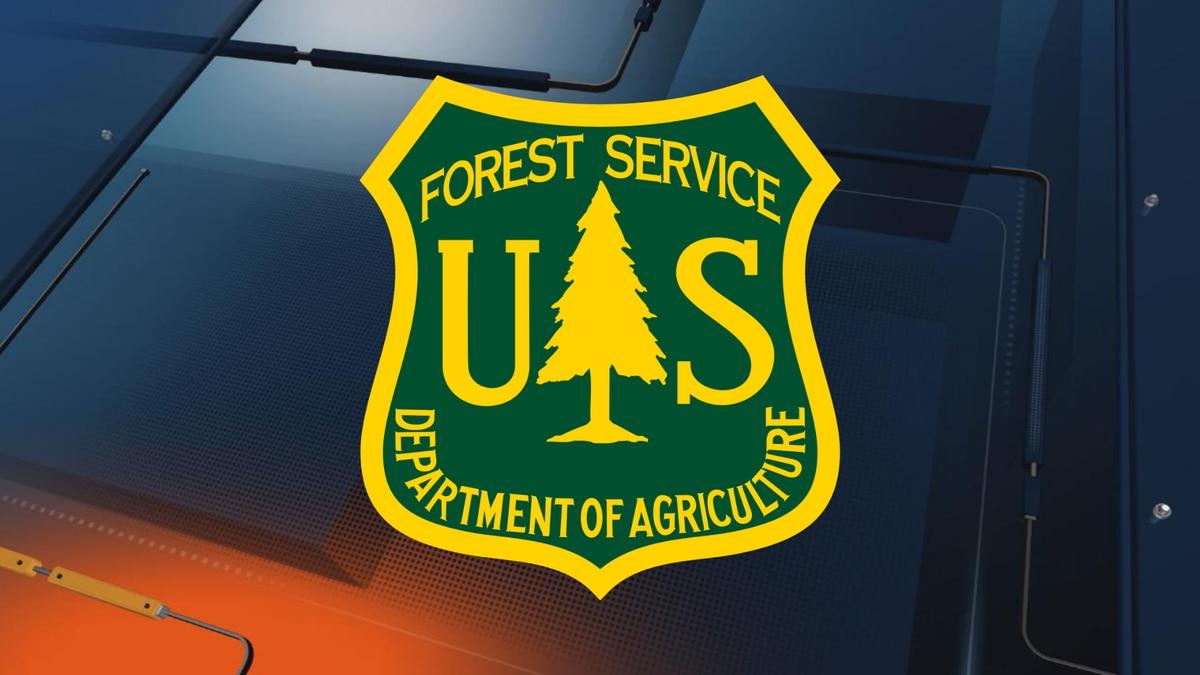 U.S. Forest Service logo.