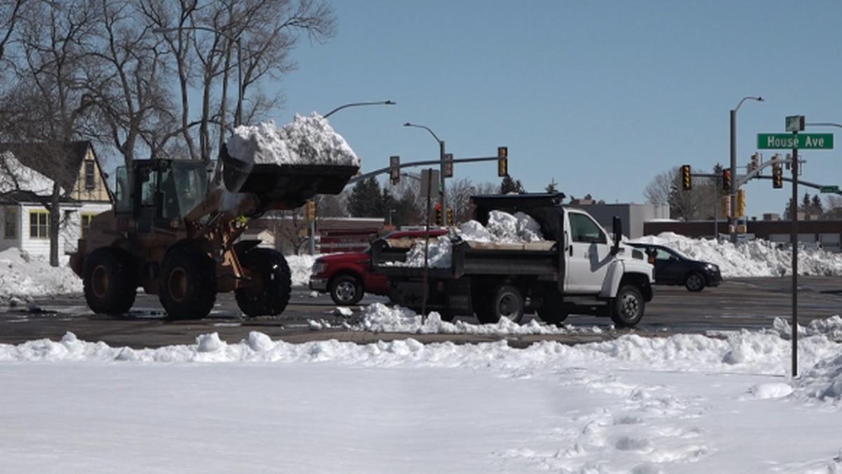 Snowplowing in Cheyenne