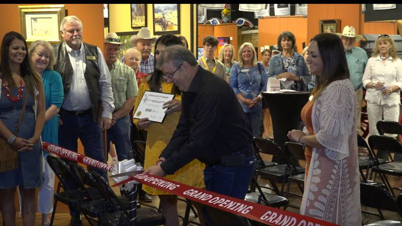 Miss Frontier Dedication ceremony on Friday July 23, 2021.