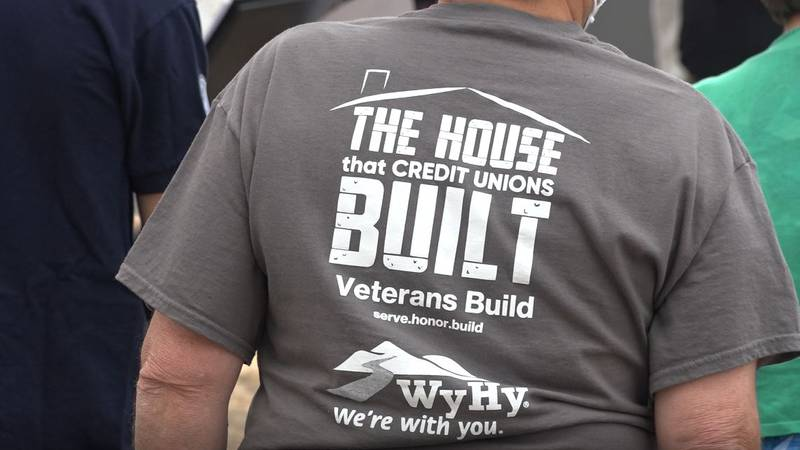 All eight credit unions in Laramie County pitched in to make the newest Veterans Build house a...