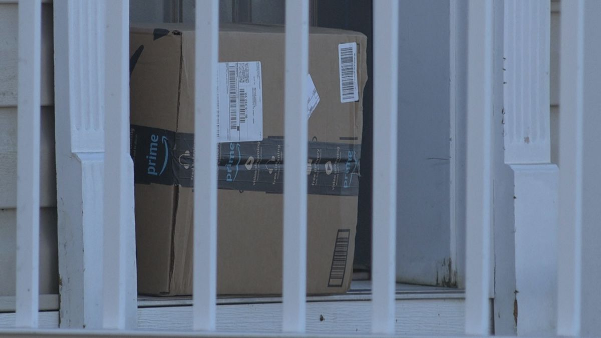 Police ask you make sure to bring in packages as soon as they are delivered to deter any porch...