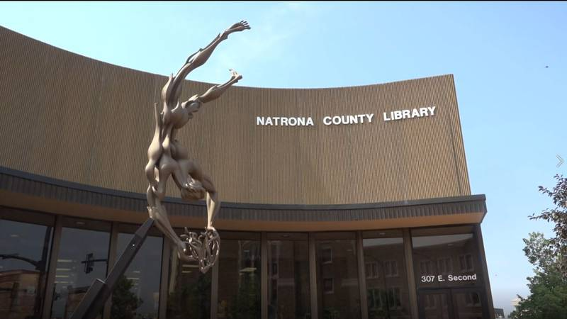 Front of Natrona County Library