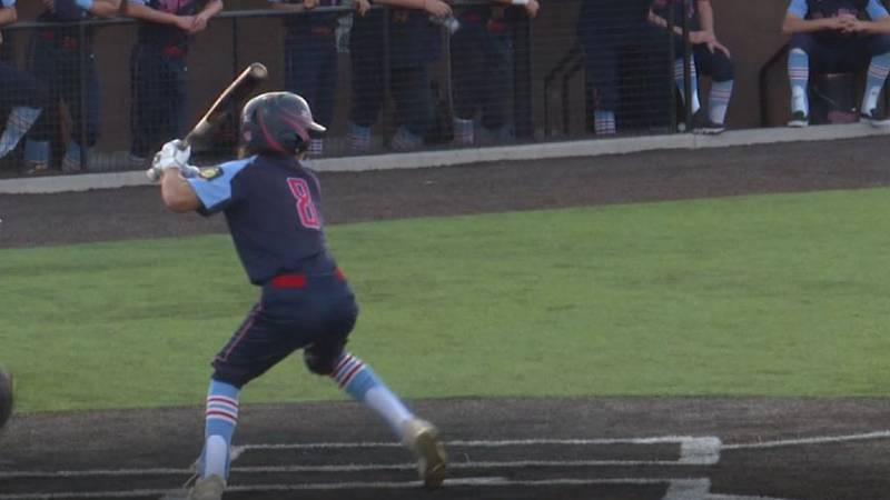 Julian Romero scored the game-tying run in the first inning and collected the go-ahead RBI in...