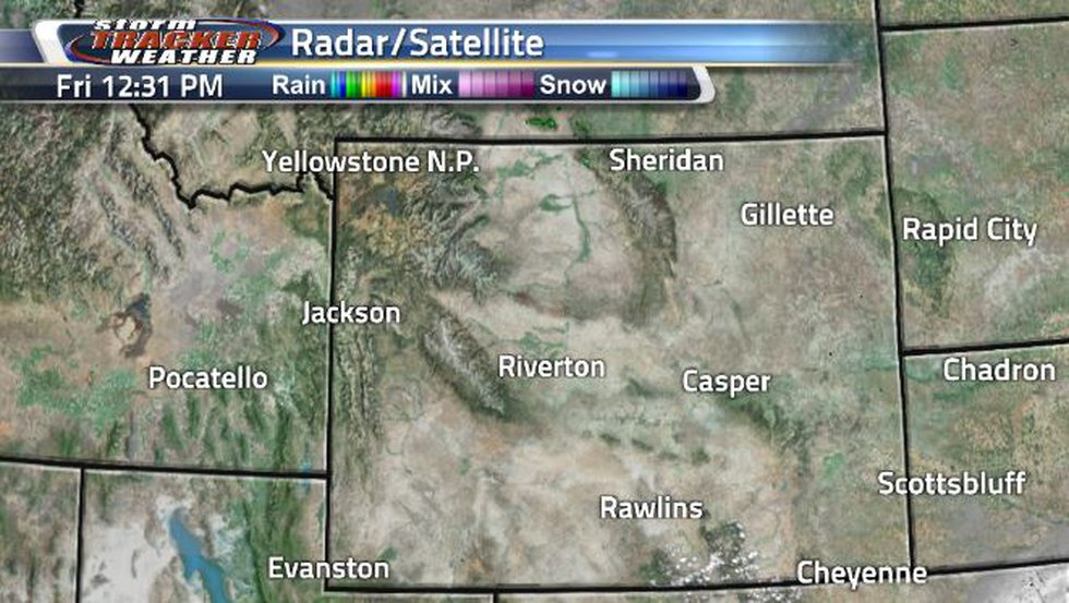 Light clouds will continue moving through this afternoon and evening.