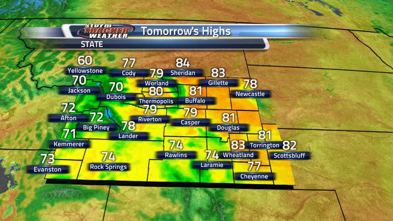 Expect temperatures tomorrow to warm right back up to above average conditions despite it being...