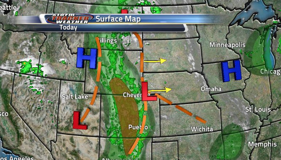 The stationary front sitting over our region that was supposed to turn into a warm has now...