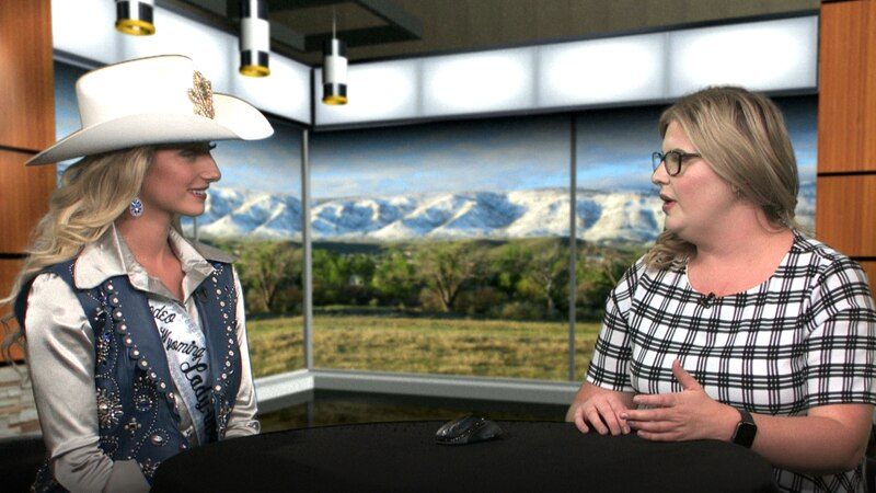 Sierra Butler meets with Wyoming News Now on Aug. 20