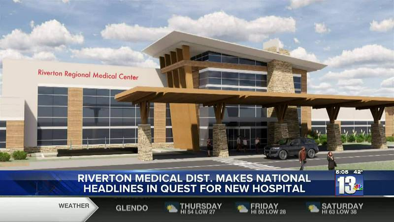 Digital model of what the Riverton Medical District's Hospital may look like in Riverton, WY