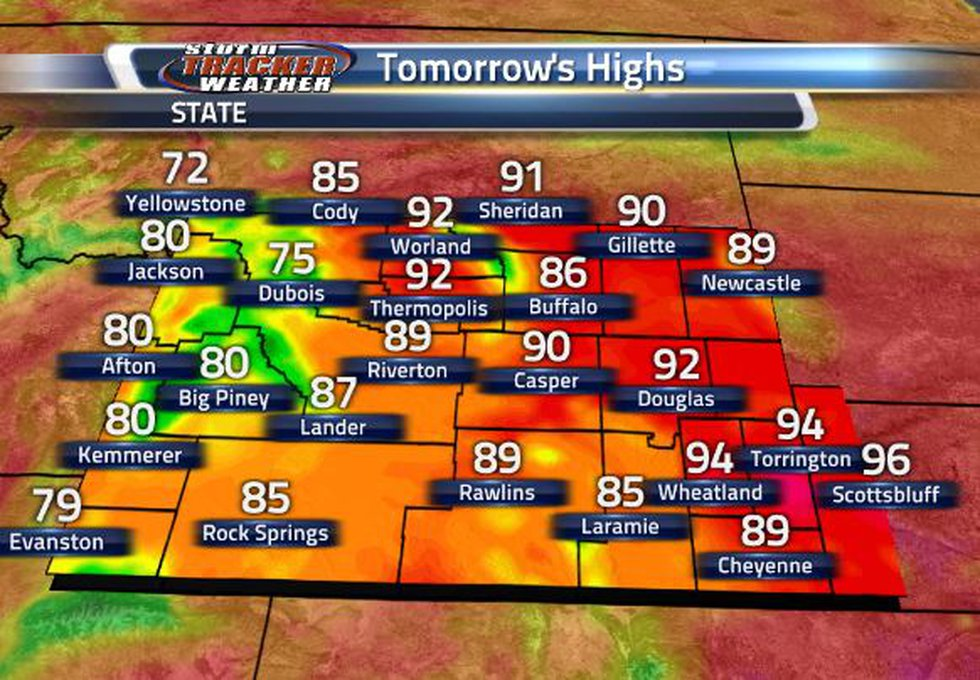 Statewide, we are beginning the cool down heading into the weekend. The highest temperatures...