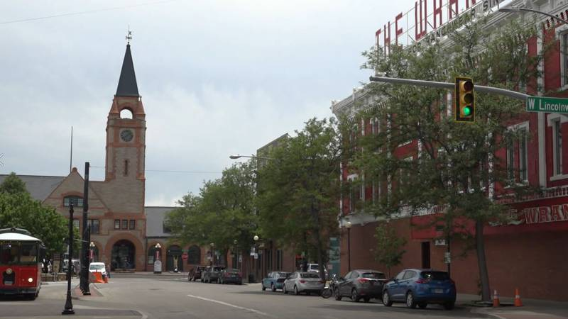 Downtown Cheyenne on the afternoon of June 18, 2021.