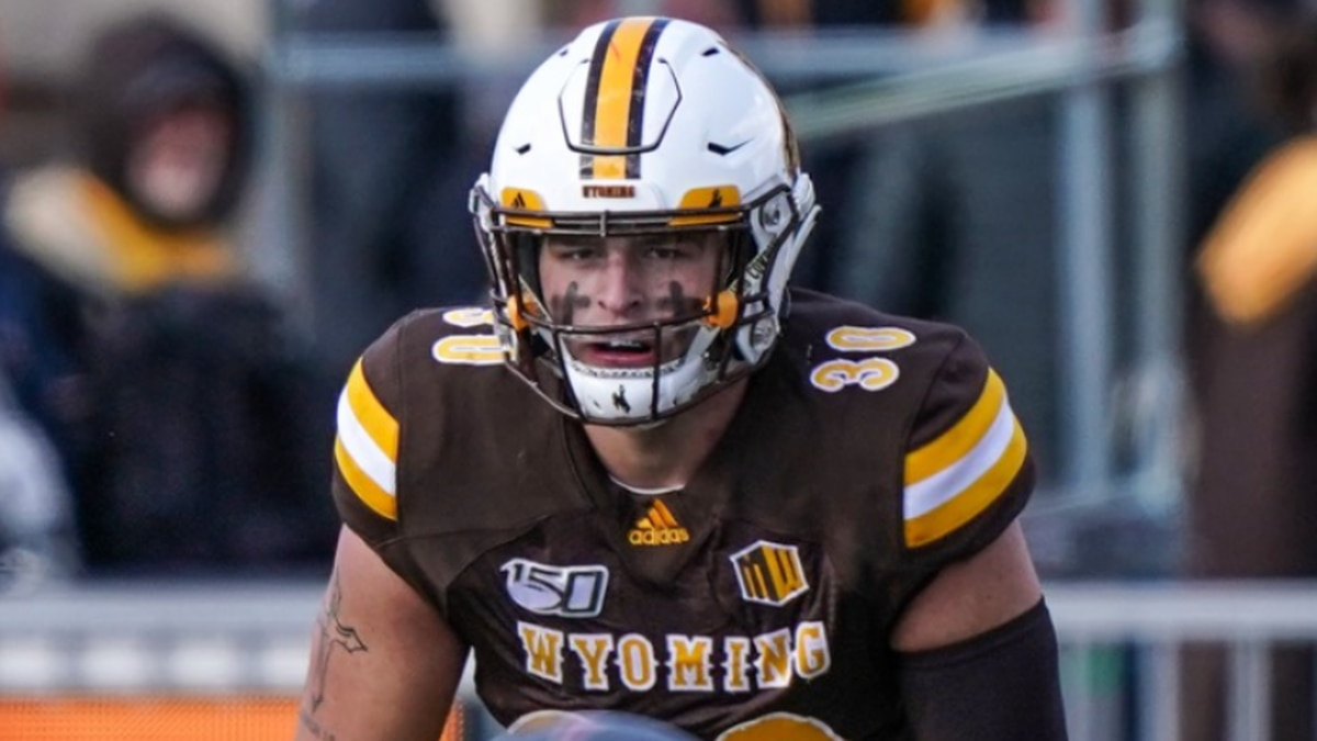 University Wyoming LB drafted
