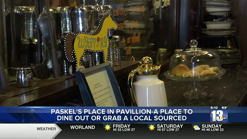 Paskel's Place in Pavillion is offering breakfast and lunch items and locally roasted coffee