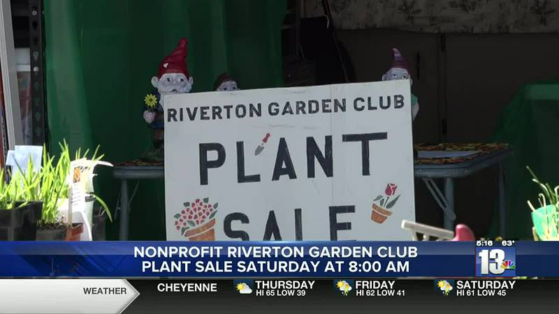 Riverton Garden Club annual plant sale to be held on Saturday, May 15, 2021