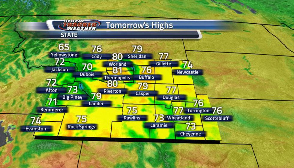 Thanks to a number of cold fronts moving through the state, we can finally see much more...