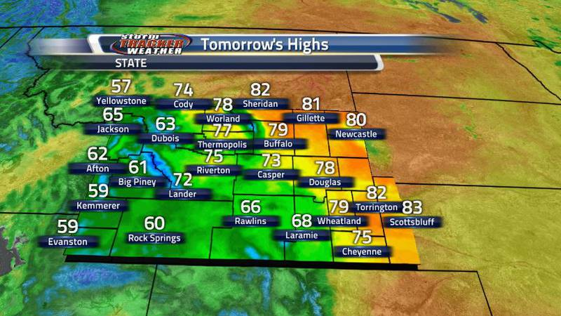 Tomorrow, temperatures will begin cooling down slightly, mostly to the western regions of the...