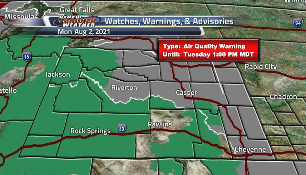 After the rain has been constant in the western regions, flash flood watches are still in...
