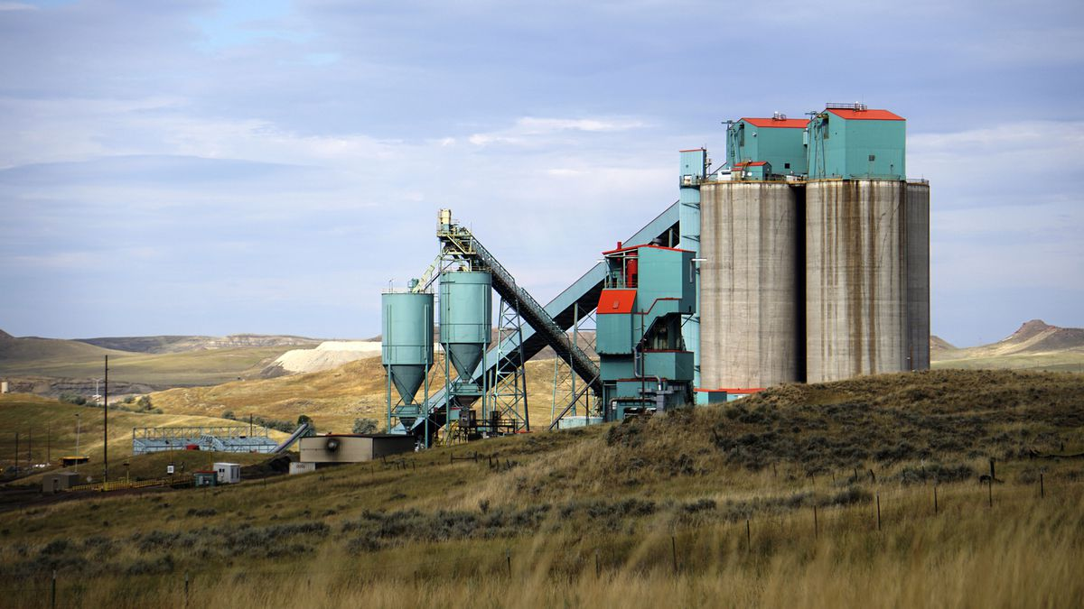 FILE - This Sept. 6, 2019, file photo, shows the Eagle Butte mine just north of Gillette, Wyo. Two of the biggest U.S. coal mines have been sold, raising the possibility that miners in Wyoming could return to work after almost four months off the job. Tennessee-based Contura Energy announced Monday, Oct. 21, 2019, that Blackjewel closed Friday on the sale of the Eagle Butte and Belle Ayr mines to a subsidiary of Alabama-based FM Coal. (AP Photo/Mead Gruver, File)