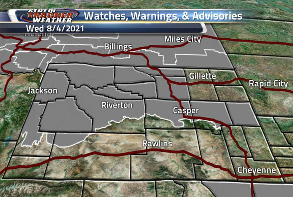 We have Air Quality Warnings in the state until 1:30PM.