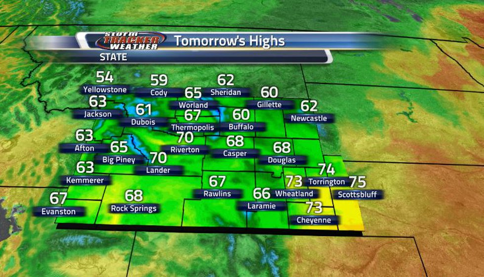 Despite all these storms, in the end we have short break from the heat as cool conditions will...