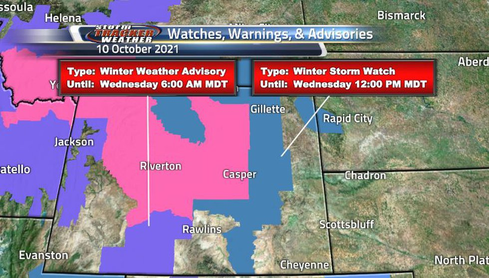 A lot of the state is covered in new winter storm watches and warnings. This is nothing to...