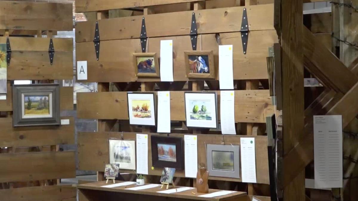 "Pieces on display at ""Art 321"" in Casper, Wyo. on Friday, Nov. 8, 2019."