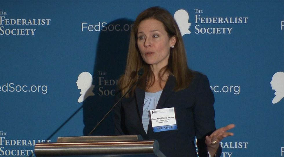 Conservative appeals court judge Amy Coney Barrett is considered the favorite to replace the late Justice Ruth Bader Ginsburg.