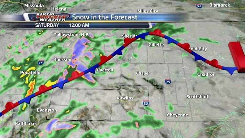 The cold front will stall out over the state within a few days increasing our cloud coverage...