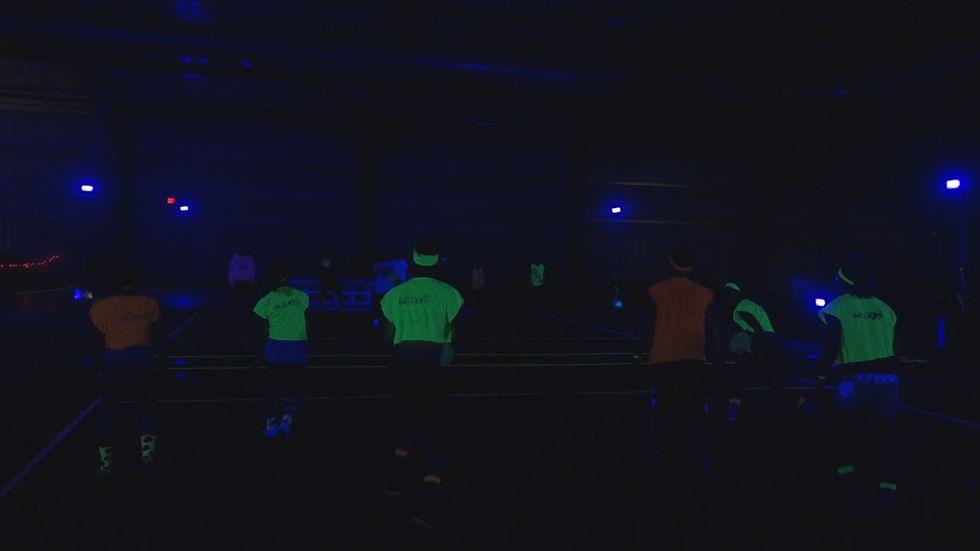 Glow in the dark Dodge ball
