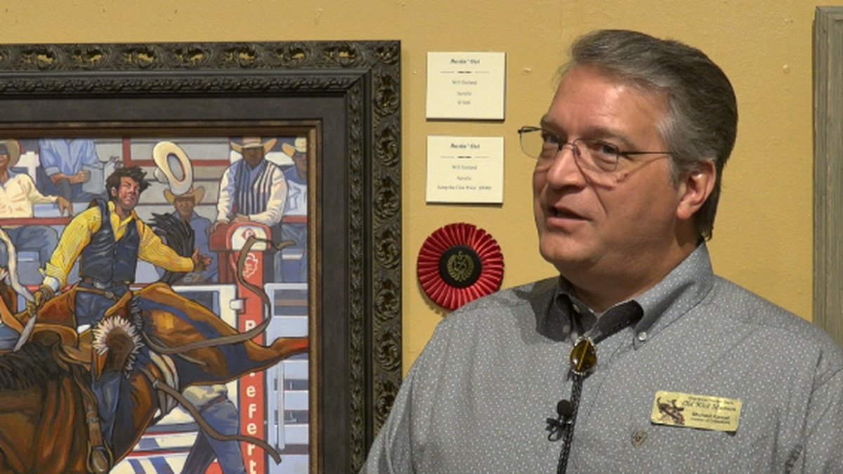 CFD Old West Museum celebrates 125 years with art- Michael Kassel, Associate Director and...