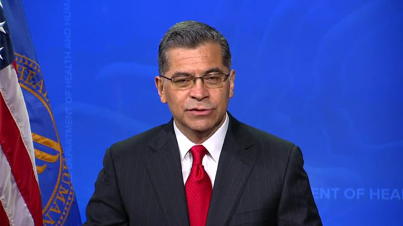 Health and Human Services Secretary Xavier Becerra discusses the change in health care...
