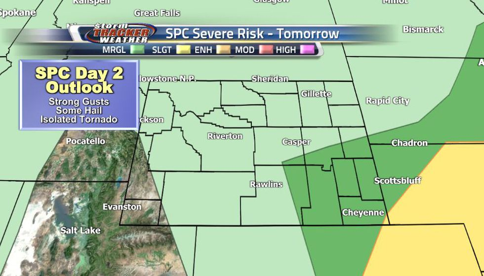 Temperatures will rise a bit on Saturday as the wind direction shifts from the north to the...