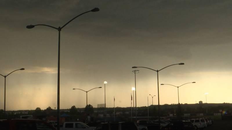 Tuesday's severe thunderstorm postponed the Cheyenne Post 6-Laramie doubleheader.